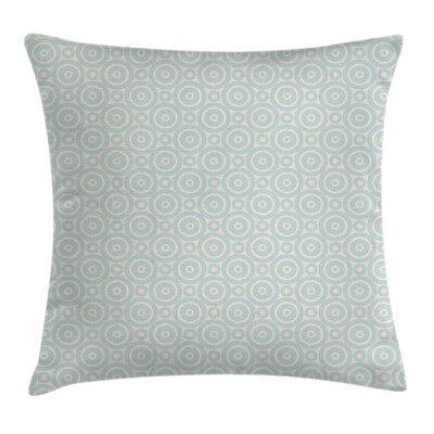Circular Geometric Tile Cushion Pillow Cover Size: 20 x 20