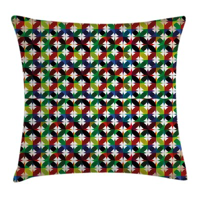 Stain Resistant Floral Pillow Cover Size: 16 x 16