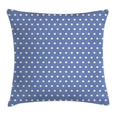 Classic Polka Dots Cushion Pillow Cover Size: 18 x 18