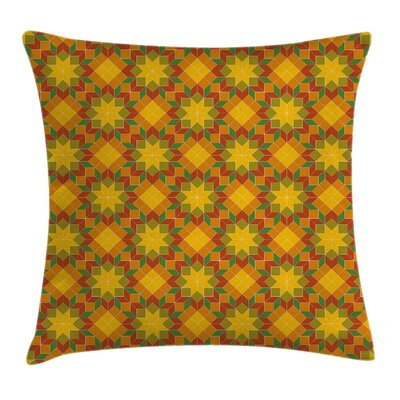 Modern Stain Resistant Floral Square Pillow Cover Size: 20 x 20