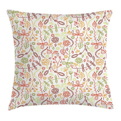 Modern Removable Pillow Cover with Zipper Size: 18 x 18