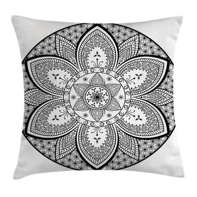 Ethnic Indian Tribal Design Cushion Pillow Cover Size: 24 x 24