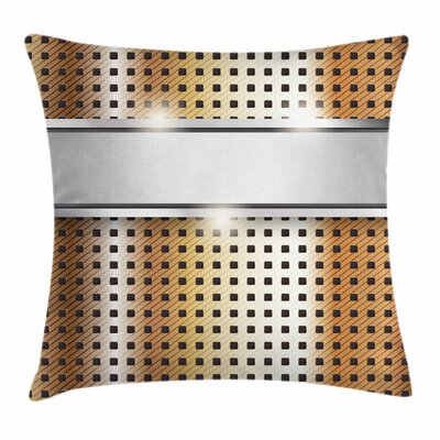 High Tech Image Square Pillow Cover Size: 24 x 24