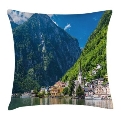 Natural View Austria Square Pillow Cover Size: 16 x 16