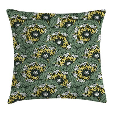 Mandala Indian Floral Bohemian Cushion Pillow Cover Size: 20 x 20