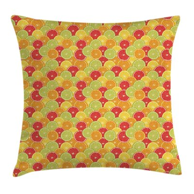 Citrus Pillow Cover Size: 18 x 18