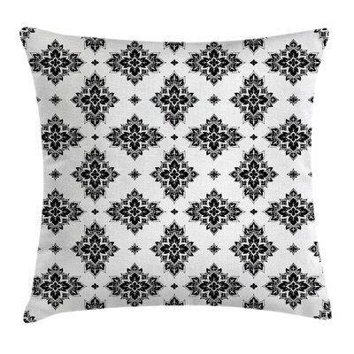 Eastern Floral Paisley Square Pillow Cover Size: 20 x 20