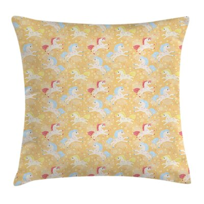 Horse Pillow Cover Size: 24 x 24