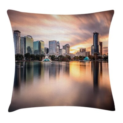 Landscape Removable Pillow Cover Size: 24 x 24