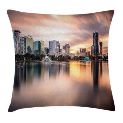 Landscape Removable Pillow Cover Size: 18 x 18