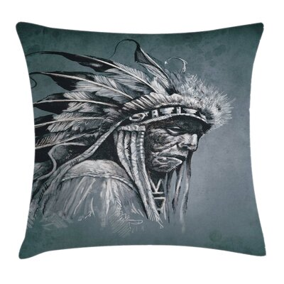 Native American Pillow Cover Size: 16 x 16