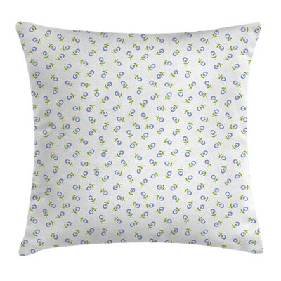 Spring Blooms Cushion Pillow Cover Size: 24 x 24