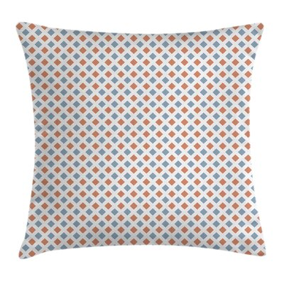 Modern Diamond Pillow Cover Size: 18 x 18