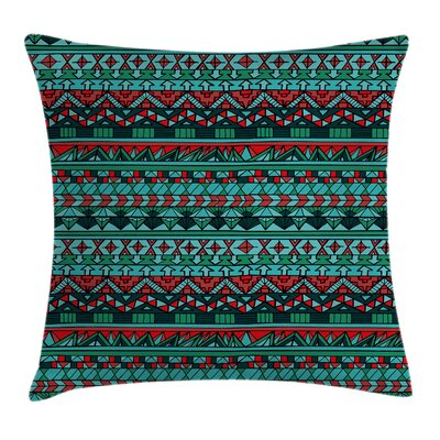 Tribal Geometric Pillow Cover Size: 24 x 24