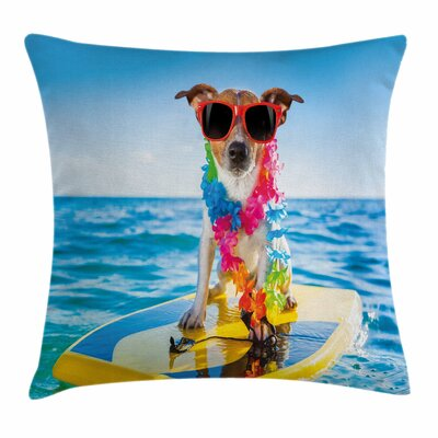 Dog Pillow Cover Size: 16 x 16