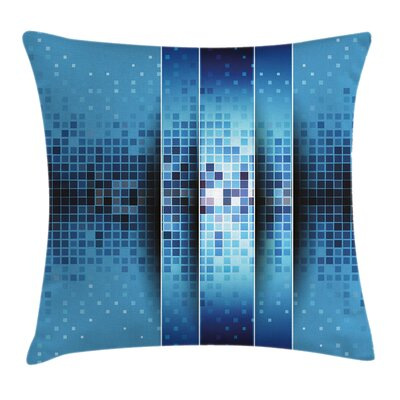 Modern Digital Square Pillow Cover Size: 24 x 24