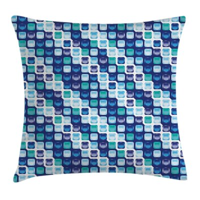 Square Pattern Pillow Cover Size: 20 x 20