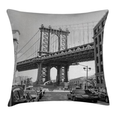 Bridge Pillow Cover Size: 18 x 18
