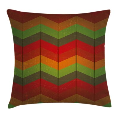 Removable Chevron Pillow Cover Size: 18 x 18