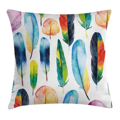 Feathers Pillow Cover Size: 24 x 24