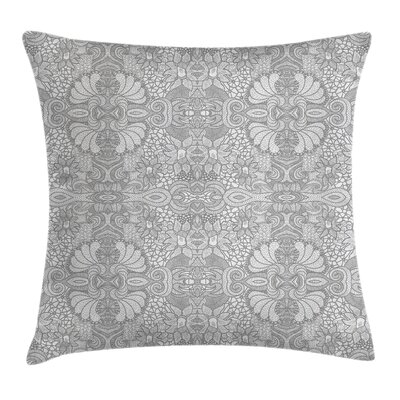 Modern Waterproof Graphic Print Square Pillow Cover Size: 18 x 18