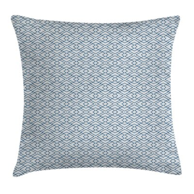Retro Blossoms Square Pillow Cover Size: 18 x 18