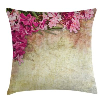 Floral Pillow Cover Size: 24 x 24