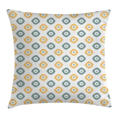 Amulet Like Cubical Cushion Pillow Cover Size: 18 x 18