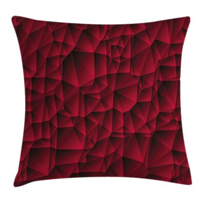 Modern Geometric Art Cushion Pillow Cover Size: 24 x 24