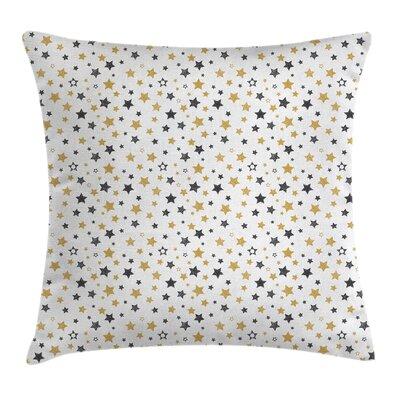 Modern Stars Pillow Cover Size: 18 x 18