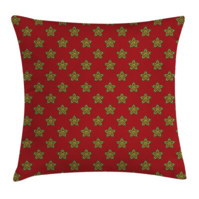 Little Flowers Pillow Cover Size: 18 x 18