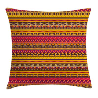 Tribal Pillow Cover Size: 24 x 24