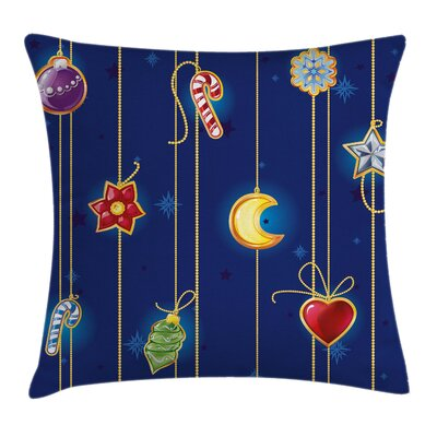 Christmas Pillow Cover Size: 18 x 18