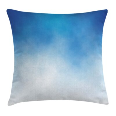 Cloud in Sky Square Pillow Cover Size: 18 x 18
