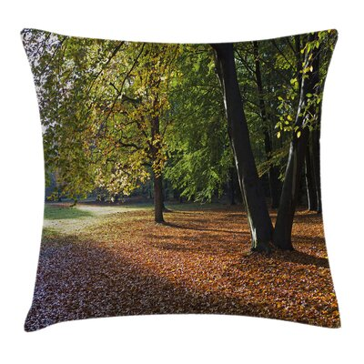 Tree Tranquil Tiergarten Square Pillow Cover Size: 16 x 16