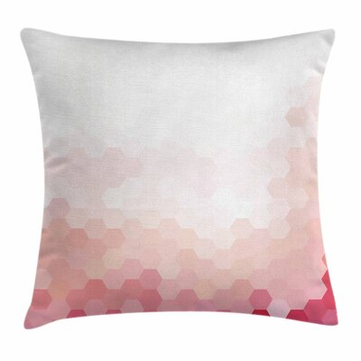 Geometric Digital Square Pillow Cover Size: 18 x 18