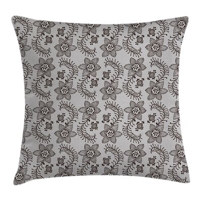 Authentic Russian Boho Square Pillow Cover Size: 18 x 18