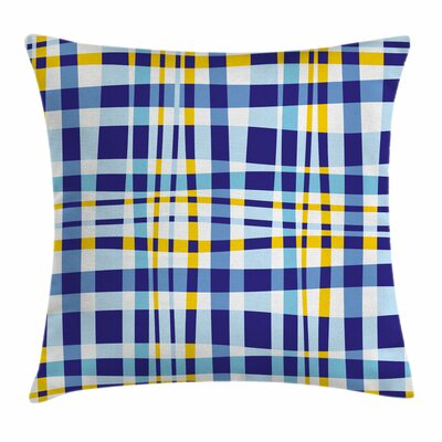 Scottish Tartan Square Pillow Cover Size: 18 x 18