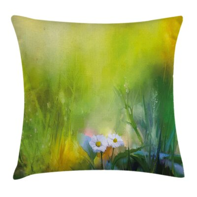 Chamomile Artsy Square Pillow Cover Size: 20 x 20