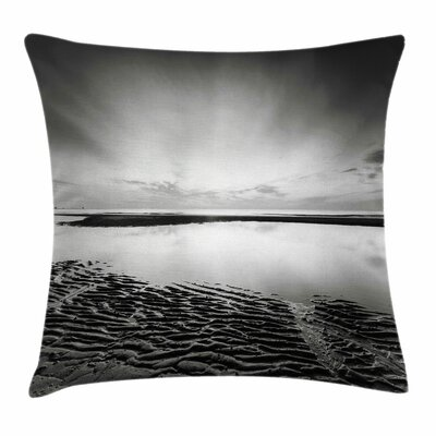Idyllic Sunrise Square Pillow Cover Size: 16 x 16