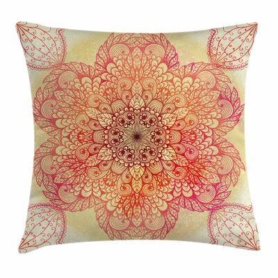 Spiritual Blossom Square Pillow Cover Size: 16 x 16