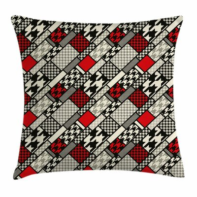 Modern Minimalist Geometric Square Pillow Cover Size: 18 x 18