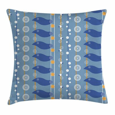 Sea Square Pillow Cover Size: 18 x 18
