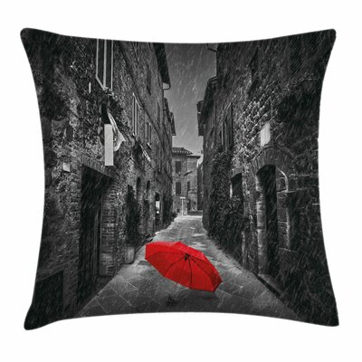 Tuscany Italy Square Pillow Cover Size: 16 x 16