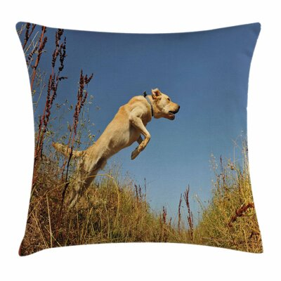 Purebred Labrador Square Pillow Cover Size: 16 x 16