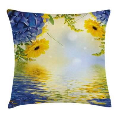 Bouquet Square Pillow Cover Size: 20 x 20