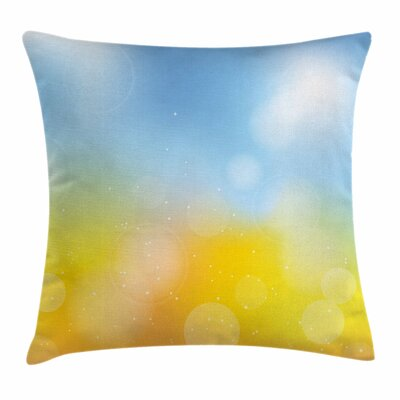 Autumn Frame Square Pillow Cover Size: 16 x 16