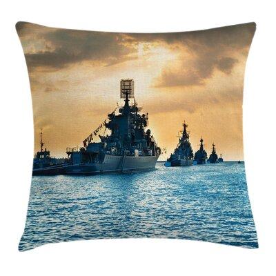 Warffare Battlefield Square Pillow Cover Size: 20 x 20