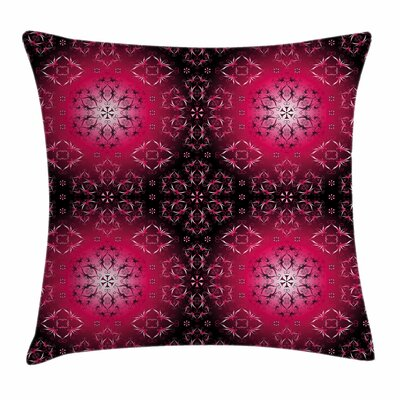 Mandala Indian Sacred Square Pillow Cover Size: 16 x 16