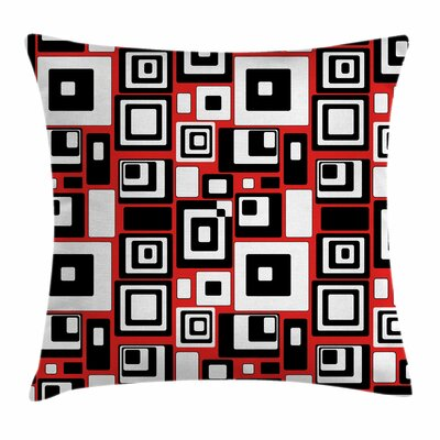 Minimalist Artsy Square Pillow Cover Size: 18 x 18